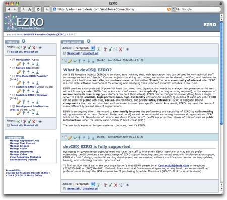 EZRO Screenshot