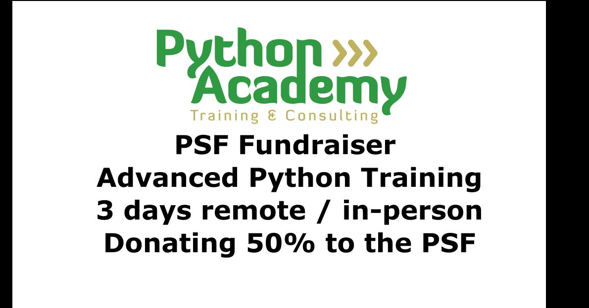 Python Academy infographic